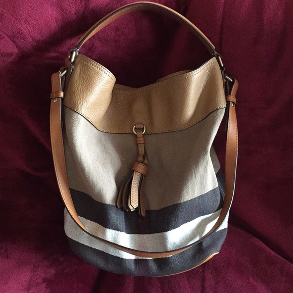 Burberry Handbags - Burberry Medium Ashby Hobo Bag fab9b1a7ee